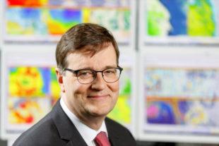 Prof. Dr. Gerhard Adrian, Präsident der Weltorganisation für Meteorologie (WMO) und des Deutschen Wetterdienstes (DWD). Foto: © Bildkraftwerk, Bernd Lammel | DWD
