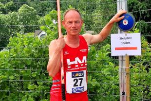 Bernd Gabel belegte im Fünfkampf der M60 den fünften Platz bei den deutschen Mehrkampfmeisterschaften. Foto: nh