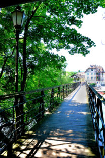2-Pfennig-Brücke in Melsungen. Foto: Schmidtkunz