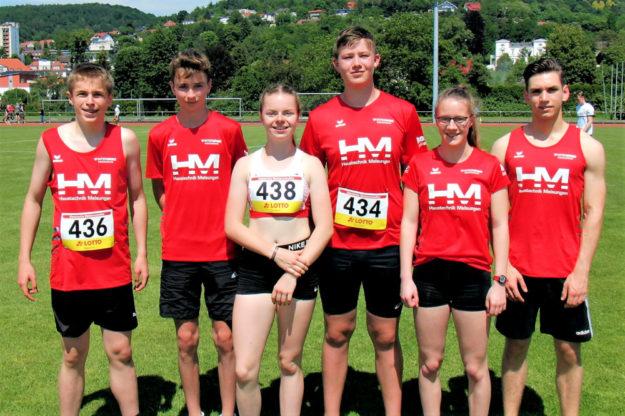 Das erfolgreiche MT-Team in Gelnhausen. Foto: nh