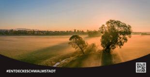 Ein Beispiel für die neue Image-Kampagne ist das Videoprojekt »Entdecke Landschaft«. Foto: Stadt Schwalmstadt.