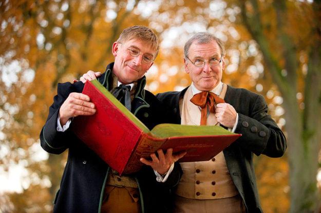 Einige Märchen der Brüder Grimm werden vorgelesen. Foto: Paavo Blafield | Sababurg