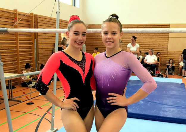 Ruby van Dijk und Laeticia Gloger lieferten sich einen spannenden Wettkampf. Foto: nh
