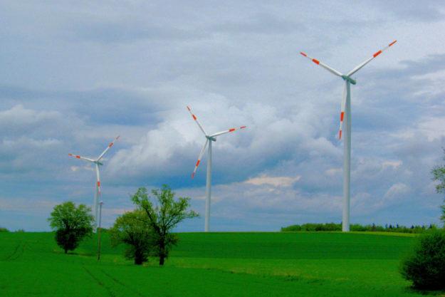 Windkraftanlagen in Felsberg-Hesserode. Foto: Schmidtkunz