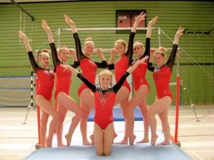 Die Sportlerinnen vom Turngau Fulda-Eder standen am Wochenende im Mehrkampf der Deutschen Hochschulmeisterschaften. Foto: nh