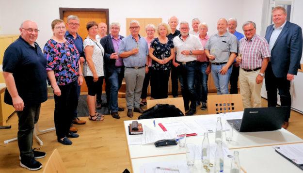 Mitglieder der Gründungsversammlung. Foto: Schwalmfoto | Gerhard Reidt