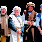 Sind künftig als Türmer-Team für die Gäste Hombergs da (v.li.): Mike Luthardt, Ines Eberwein, Dennis Willershausen und Dr. Jürgen Helm. Foto: pö