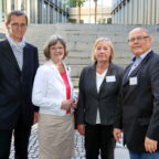 Ulli Spengler, Dr. Heidemarie Krüger, Ellen Kördel-Heinemann, Klaus Zindel. Foto: nh