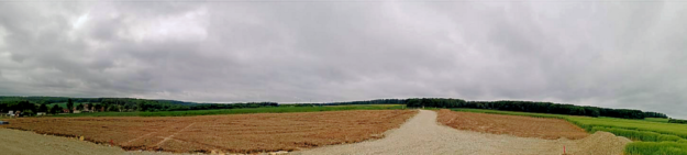 Willingshausen wächst, neue Bauplätze wurden ausgewiesen, die Erschließungsarbeiten haben begonnen. Foto: Gemeinde Willingshausen