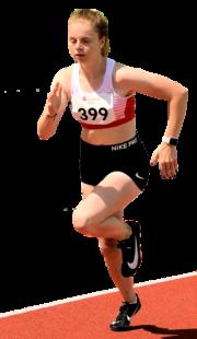 Vivian Groppe träumt von zwei Laufmedaillen in Koblenz. Foto: nh