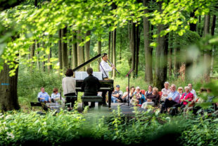 Waldkonzert im Reinharswald mit der Musikakademie Louis Spohr. Foto: Heiko Meyer
