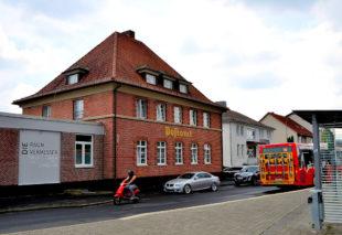 Das Postamt Gensungen. Foto: Schmidtkunz
