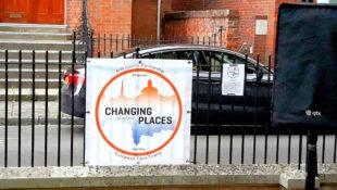 Die künstlerische Botschaft der Changing Places stieß in Bridgwater auf reges Interesse. Foto: Andrè Grabczynski