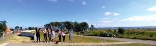 Der Ostseewind als Helfer beim Riesenseifenblasenmachen. Foto: Jugend- & Freizeiteinrichtungen