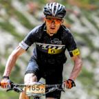Nach sieben schweren Alpenetappen mit dem Mountainbike erreicht MT-Radsportler Thorsten Damm bei der Bike Transalp den zweiten Platz. Foto: nh