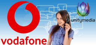Am 1. August geht Unitymedia an Vodafone. Unseriöse Geschäftemacher könnten die Übernahme für unlautere Telefonakquise missbrauchen. Davor warnt die Verbraucherzentrale Hessen. Montage: SEK-News