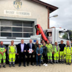Mit Euro 6 statt Euro 3 leistet der neue Bauhof-Laster einen guten Beitrag zum Klimaschutz. Foto: nh