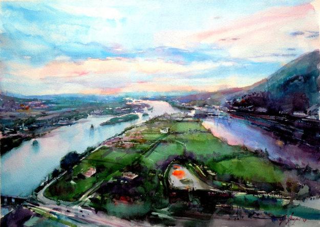 Rivers of Shkodra von Igli Arapi. Repro: nh
