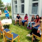 Mit der Jugend im Gespräch: Für die künftige Jugendarbeit des Tuspo Borken wurden erste Weichen gestellt. Foto: nh