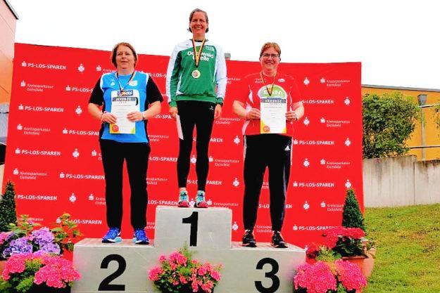 Rang 3 und damit die Bronzemedaille lautete das Wettkampfergebnis für Annette Engelhardt. Foto: nh