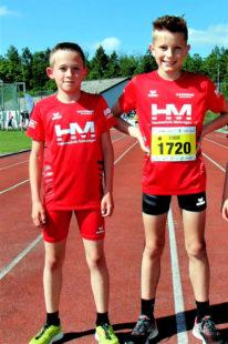 Jean und Linus sicherten sich die Siege beim Nordhessen-Cup in Breuna. Foto: nh