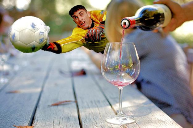 Am Wochenende ist das Sport- & Weinfest der SpVgg Zella/Loshausen. Fotos: Wellington, Skeeze | Montage: gsk