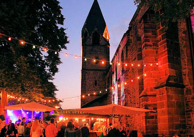 Das »Weindorf an der Totenkirche« feiern die Treysaer und ihr Gäste vom 11. bis 14. Juli. Foto: nh
