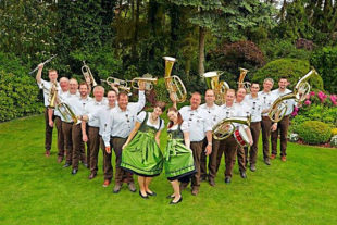 Beim Platzkonzert am Sonntag, 8. September, ab 13 Uhr, sind die Original Schwalmtaler Blasmusiker zu Gast. Foto: no