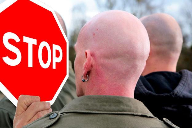 Rechte Aufmärsche stoppen! Der SPD-Bezirk Hessen-Nord ruft zur Gegendemonstration auf. Fotos: Gerd Altmann | Polizei. Montage: SEK-News