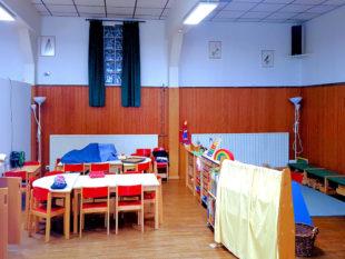 Mit guten Ideen und ausgewogenen Mitteln entstanden im Kindergarten »Gasthaus Stock« zweckmäßige Kreativ- und Spielecken. Foto: nh