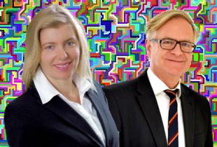 Frauke Syring und Achim Schnyder. Fotos: nh