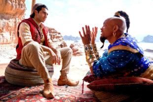 Mena Massoud als Aladdin und Will Smith als Dschinn. Foto: Daniel Smith | Disney Enterprises