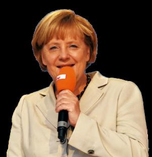 Bundeskanzlerin Angela Merkel, CDU. Foto: Gerald Schmidtkunz