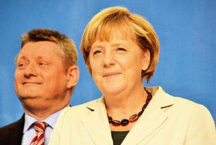 Angela Merkel und Hermann Gröhe. Foto: Gerald Schmidtkunz