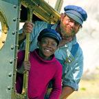 """Der Familienfilm """"Jim Knopf und Lukas der Lokomotivführer"""" aus dem Jahr 2018 wird beim Open-Air-Kino am Freitagabend bei freiem Eintritt im Borkener Stadtpark gezeigt. Foto: nh"""