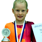 Clara Besser (9), Turnerin der MT-Melsungen. Foto: nh