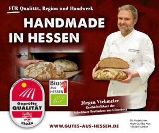 Kampagnenmotiv für den Schwälmer Brotladen. Repro: nh
