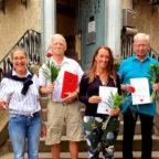 Regine Müller, Dieter Siemon, Adriana Reitz, Jürgen Schenk. Foto: nh