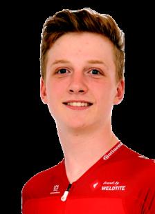 Im Jahr 2019 besonders erfolgreich: Julian Hippmann (Landeskader/Sieger 3-Etappen-Fahrt), Foto: Herbert Margraf
