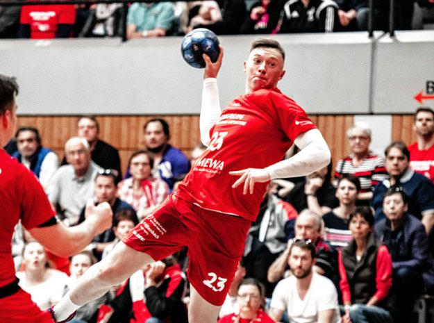 Die MT Melsungen schließt für den Bundesliga-Handball einen Vertrag mit Nachwuchsspieler Ole Pregler. Foto: Alibek Käsler