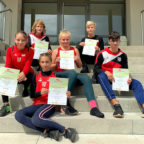 Nicoletta Antohi, Antonia Berneburg, Adriana Butaeva, Lea-Marie Körber, Justin Enis, Marcel Al-Batat. Foto: nh