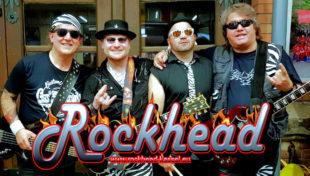 Der Freitagabend wird nach dem Open-Air-Kinofilm noch durch die Band »Rockhead« verlängert. Die Kasseler Musiker spielen Hits von AC/DC, Billy Idol, Bon Jovi, Deep Purple, Guns n'Roses, Scorpions, Status Quo und vielen anderen mehr. Foto: nh
