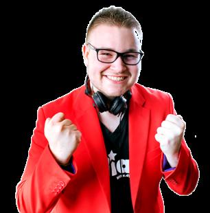 Der junge und dynamische DJ Julian gehört zum Borkener Stadtparkfest einfach dazu. Er wird Samstag durch das Abendprogramm führen und mit seiner Energie und seinem Charme überzeugen. Foto: no