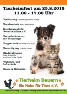 »Ein Heim für Tiere e.V.« lädt für den 25. August zum Tierheimfest ein. Foto: Tierheim Beuern