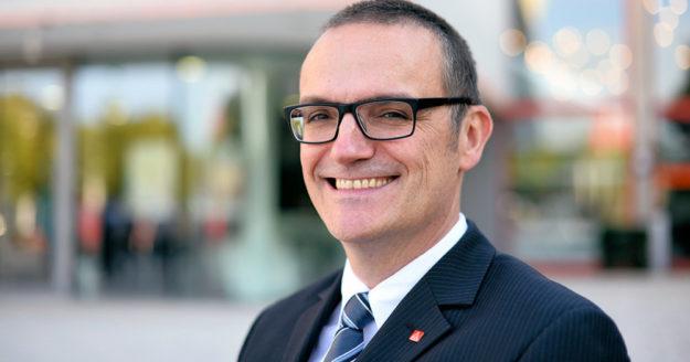 Oliver Dietzel, Erster Bevollmächtigter der IG Metall Nordhessen. Foto: Martin Sehmisch