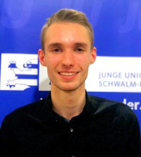 Dennis Döring, Kreisvorsitzender JU Schwalm-Eder. Foto: nh