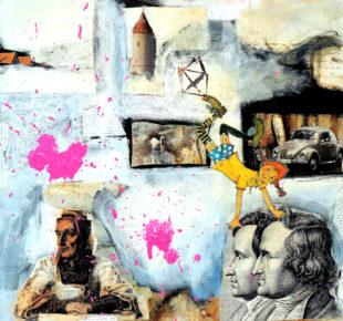 Collage von Michael Lampe. Repro: nh