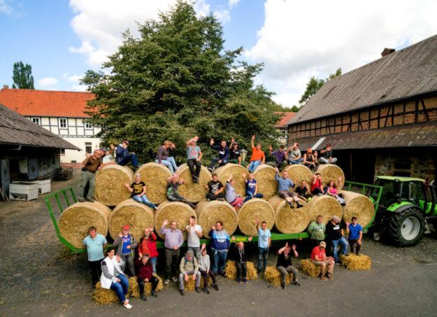 Die Leute vom Bio-Hofgut Richerode freuen sich schon auf ihre Gäste zum traditionellen Erntedankfest am Sonntag, 6. Oktober, ab 13 Uhr. Foto: Hephata