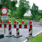 Die Knüllstraße in Niedergrenzebach wird vom 16.09. bis 20.12.2019 voll gesperrt. Symbolfoto: Gerald Schmidtkunz