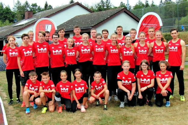 Das große und erfolgreiche MT-Team. Foto: nh
